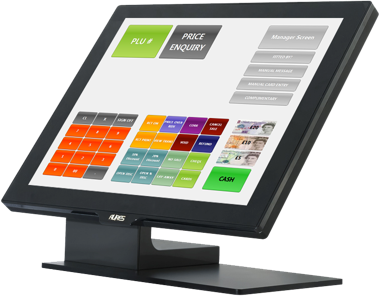 Graphical touchscreen interface