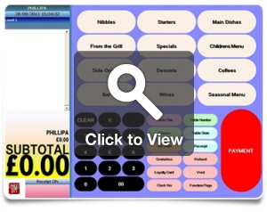 Example of Restaurant System