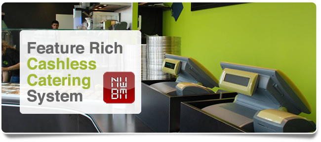 Feature Rich Cashless Catering System