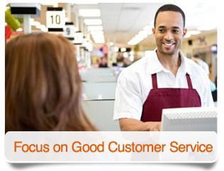 Focus on Good Service