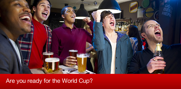 Get ready for the World Cup