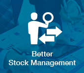 better stock management