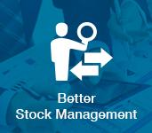 better stock management