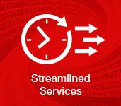 streamlined service