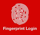 Fingerprint login