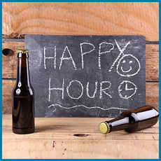happy hour graphic