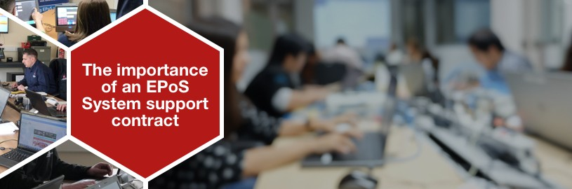 The importance of an EPoS system support contract