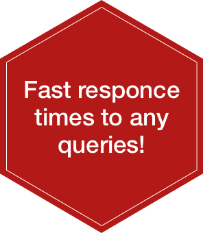 Fast response times to any queries
