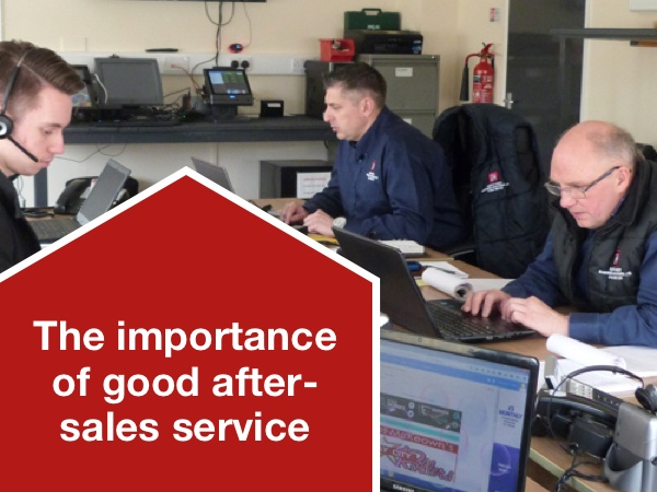 The importance of good after-sales service